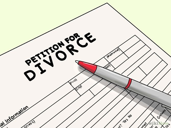 Help with divorce paperwork