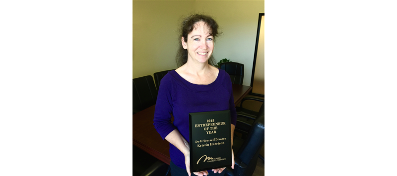 California divorce paralegal kristin harrison california divorce paralegal awarded 2015 entrepreneur of the year solutioingenieria Image collections